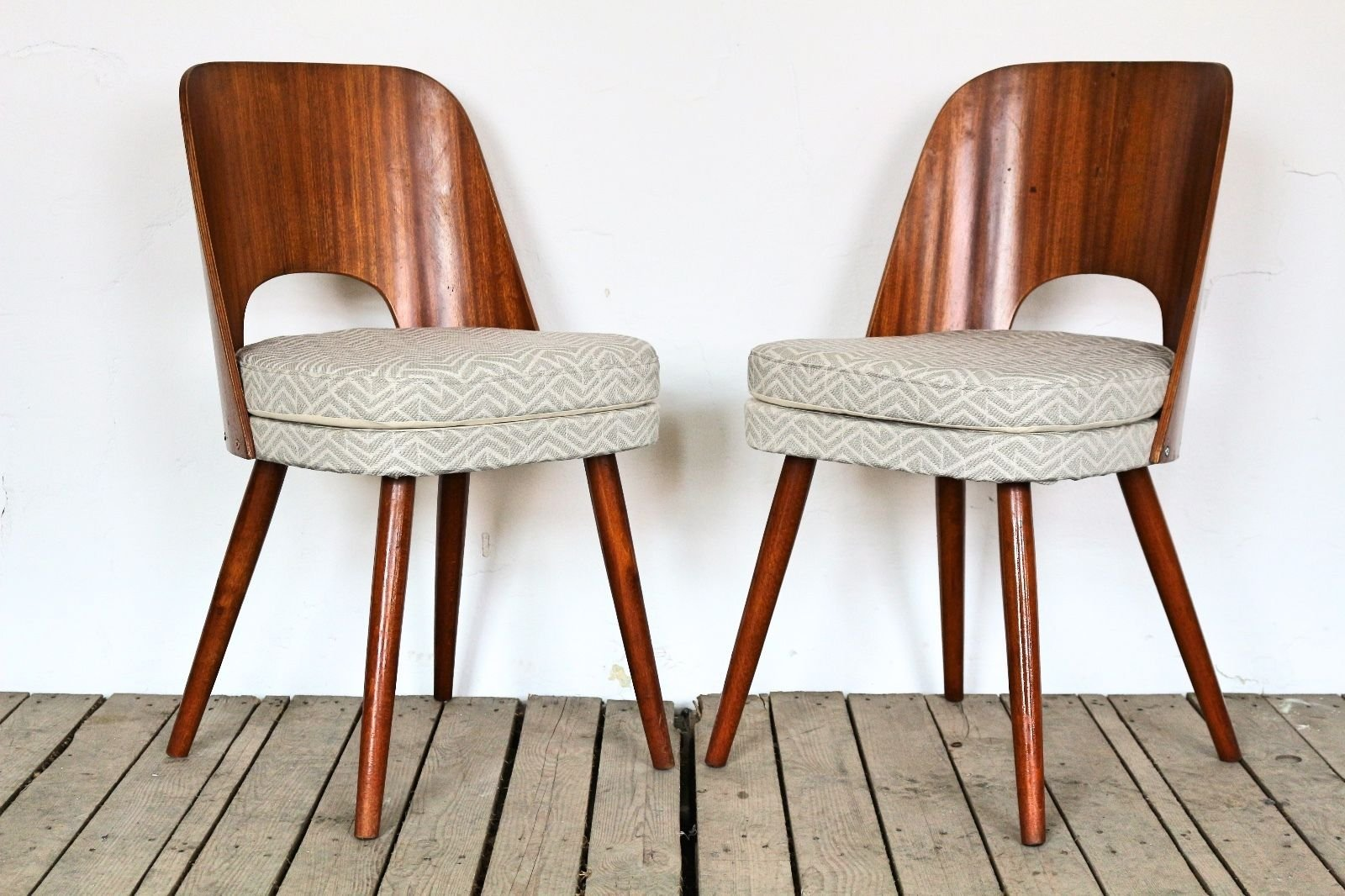 Vintage Tatra Dining Chair By Anton N Uman For Sale At Pamono