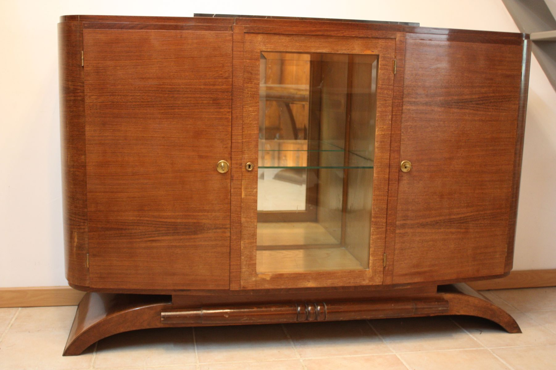 art d co vitrine 1930s for sale at pamono. Black Bedroom Furniture Sets. Home Design Ideas