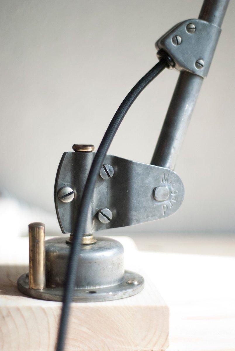 vintage articulated lamp nr 2 by curt fischer for midgard. Black Bedroom Furniture Sets. Home Design Ideas