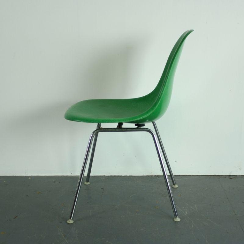 Chaise D 39 Appoint Dsx Vintage Par Charles Ray Eames Pour
