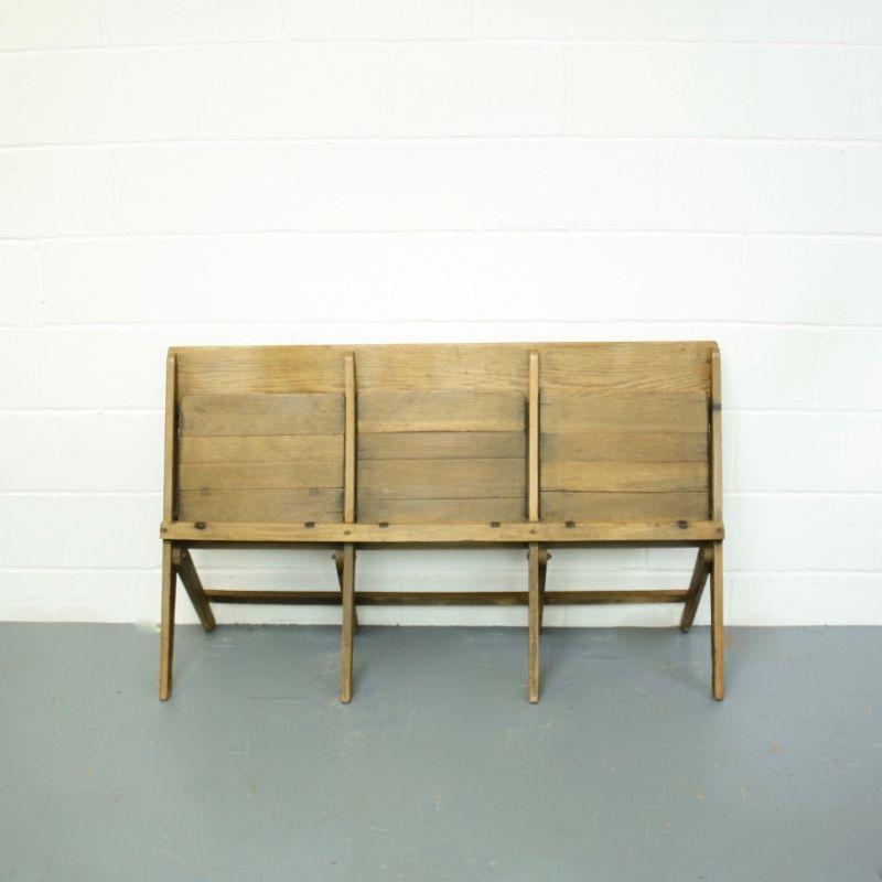 Vintage Folding Theatre Seats For Sale At Pamono
