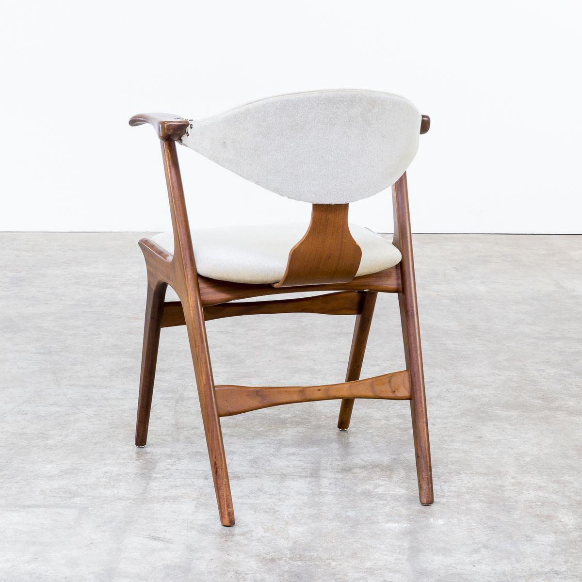 Cowhorn Chairs Louis Van Teeffelen For W 233 B 233 1960s Set Of