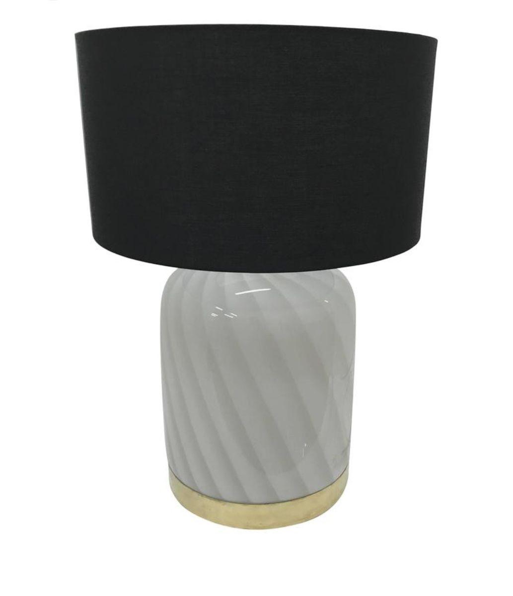 lampe aus murano glas und messing 1970er bei pamono kaufen. Black Bedroom Furniture Sets. Home Design Ideas