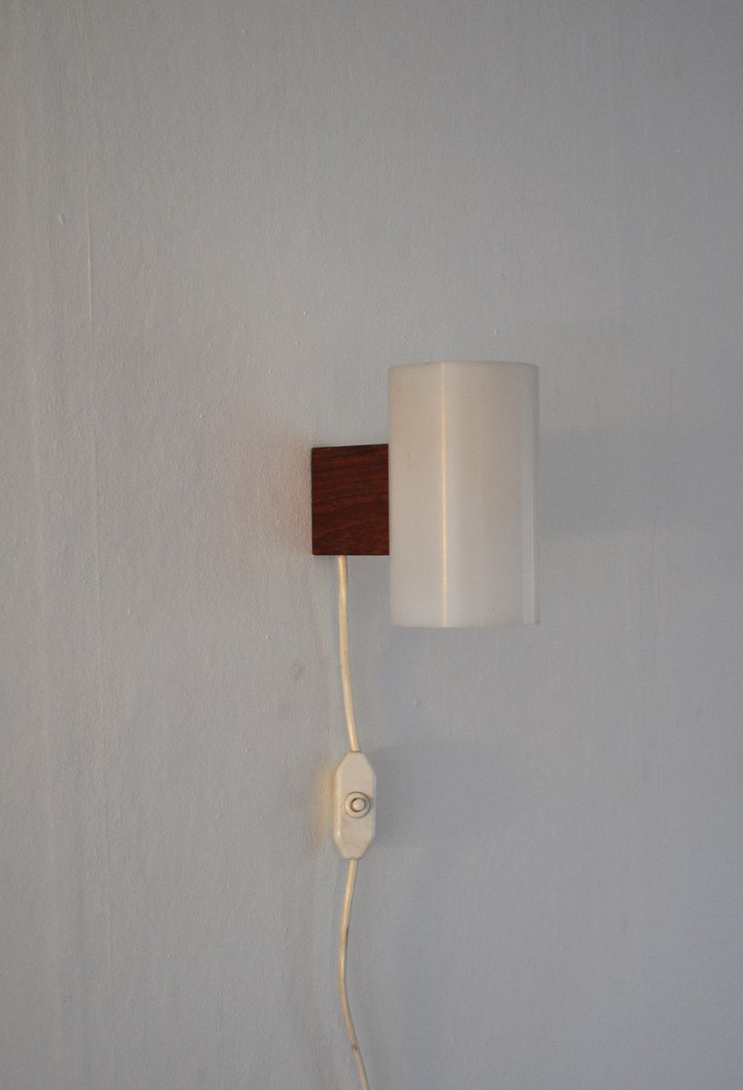 vintage minimalist wall lamp by uno & Östen kristiansson for luxus ... - Luxus Raumausstattung Shop