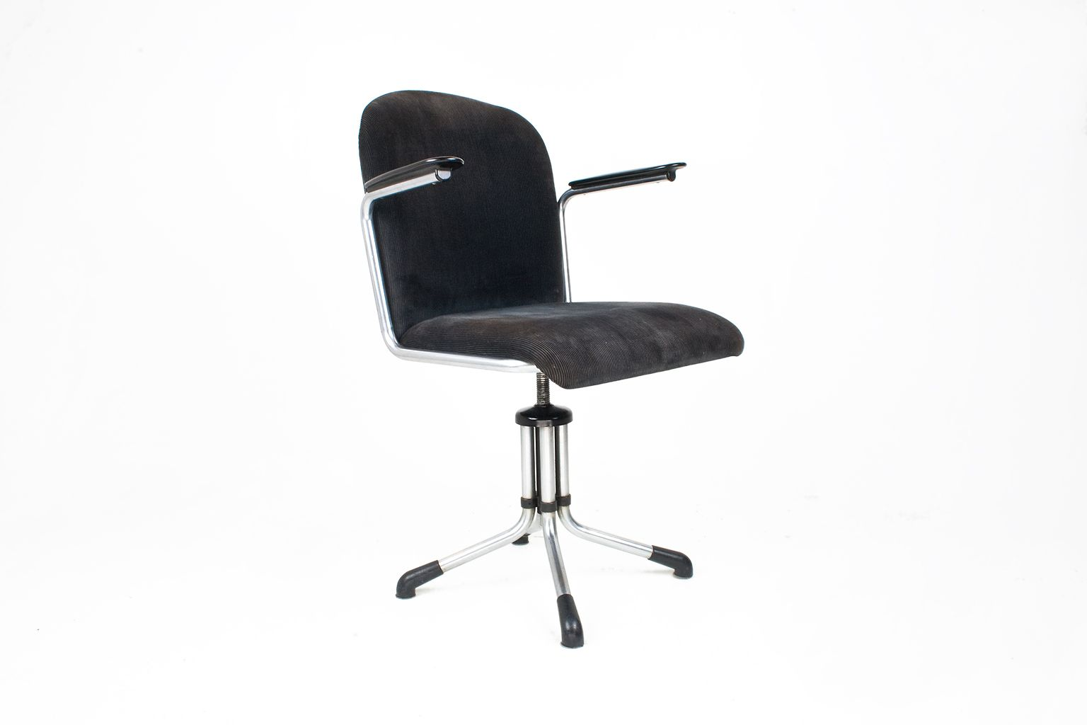 Dutch Industrial Model 356 Desk Chair by Willem Gispen for
