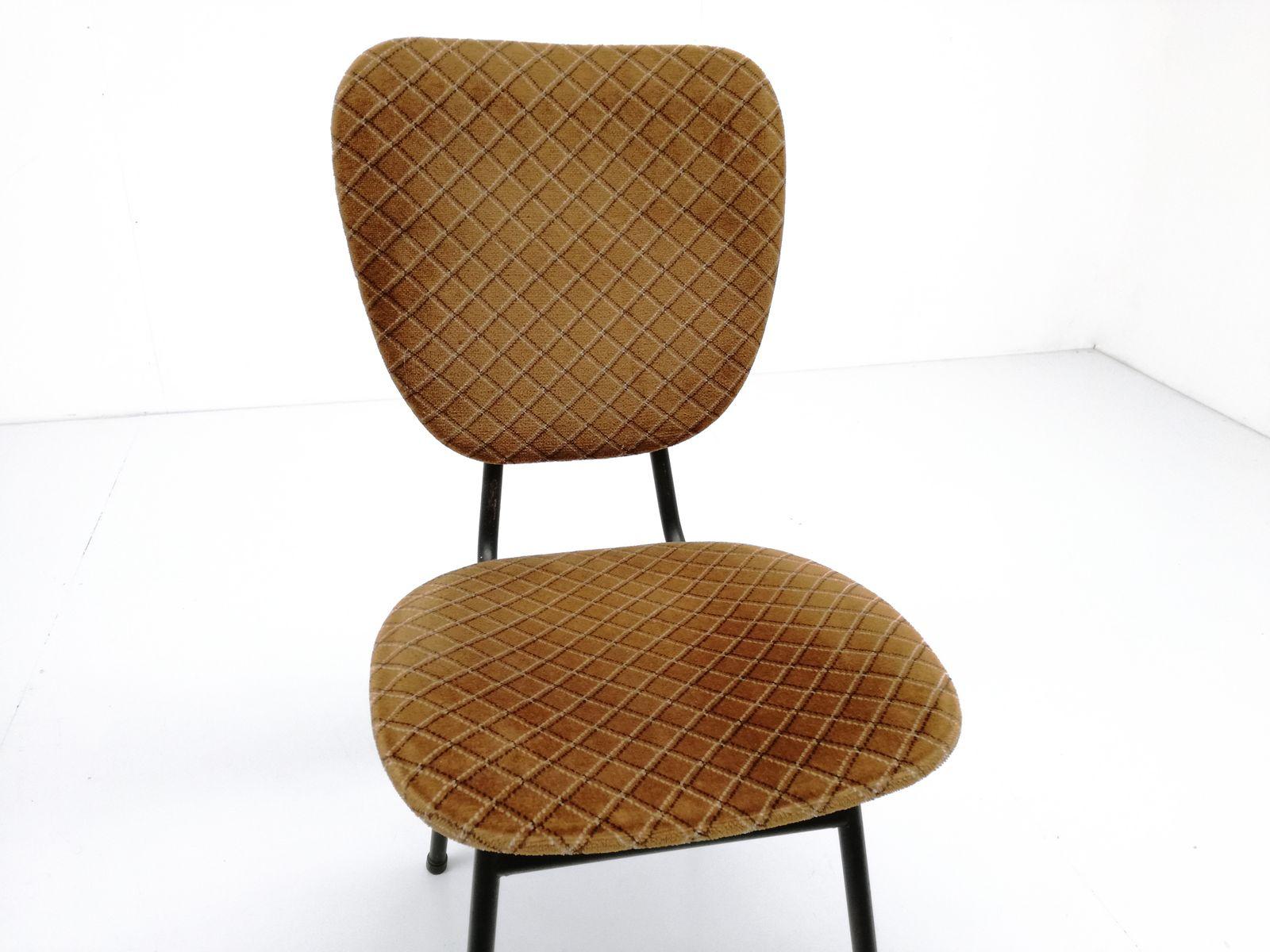 Black steel chairs - Price Per Set