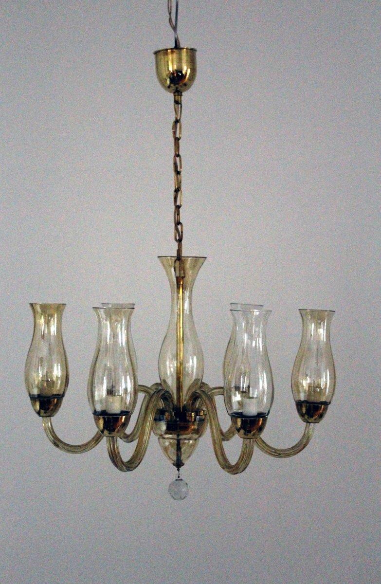 venezianischer kronleuchter aus silberoxid glas 1930er bei pamono kaufen. Black Bedroom Furniture Sets. Home Design Ideas