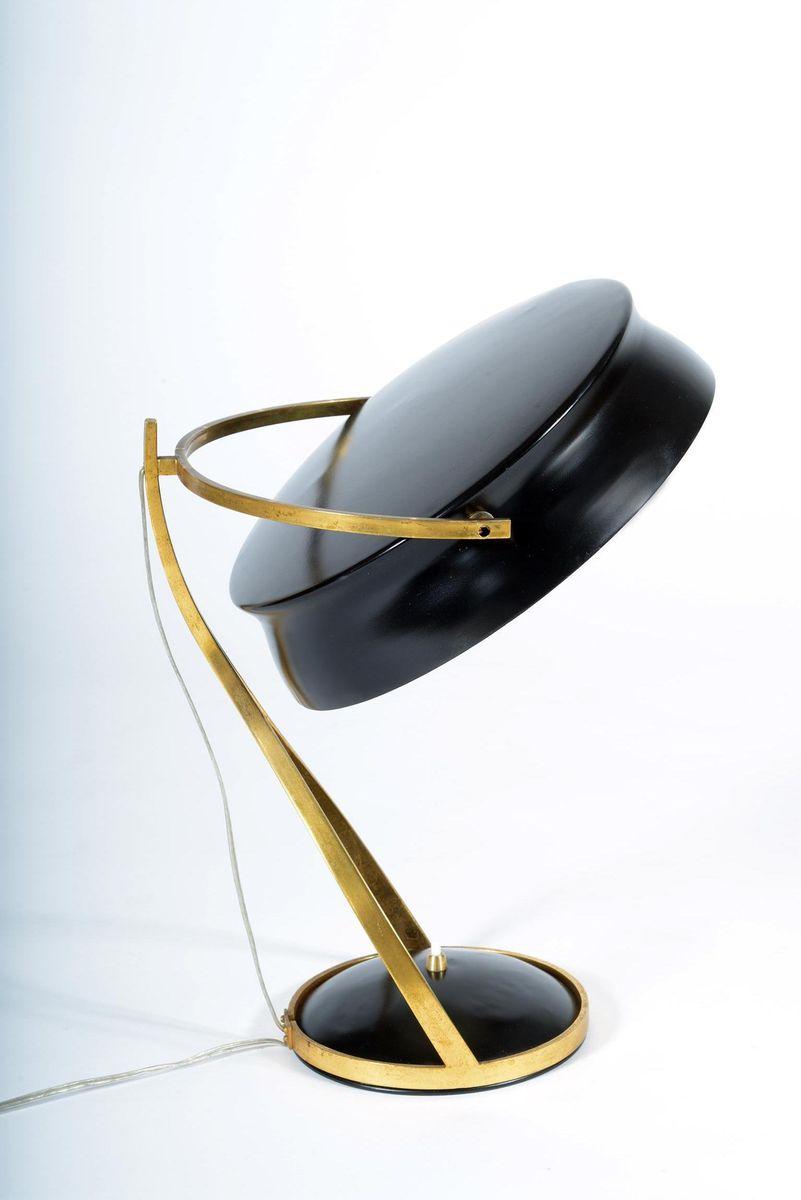 Lampe de bureau commander ajustable de chiarini 1957 en for Bureau commande