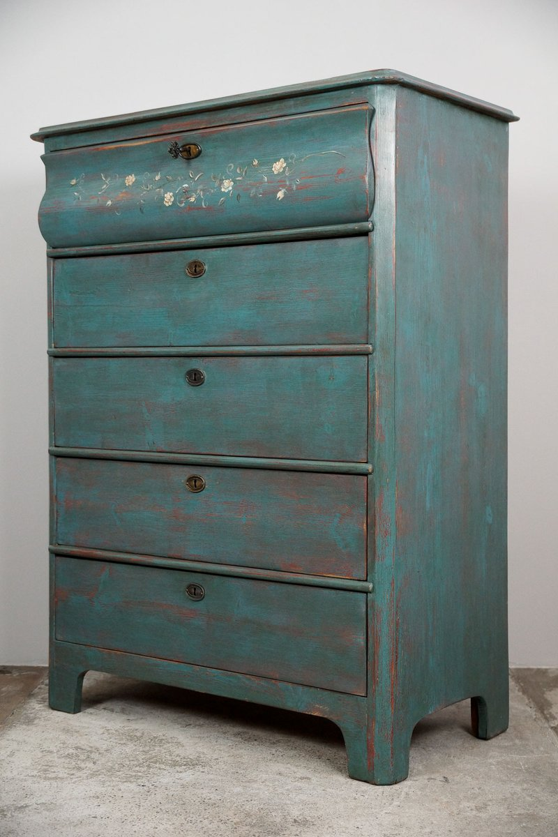 antique gentleman 39 s chest of drawers for sale at pamono. Black Bedroom Furniture Sets. Home Design Ideas