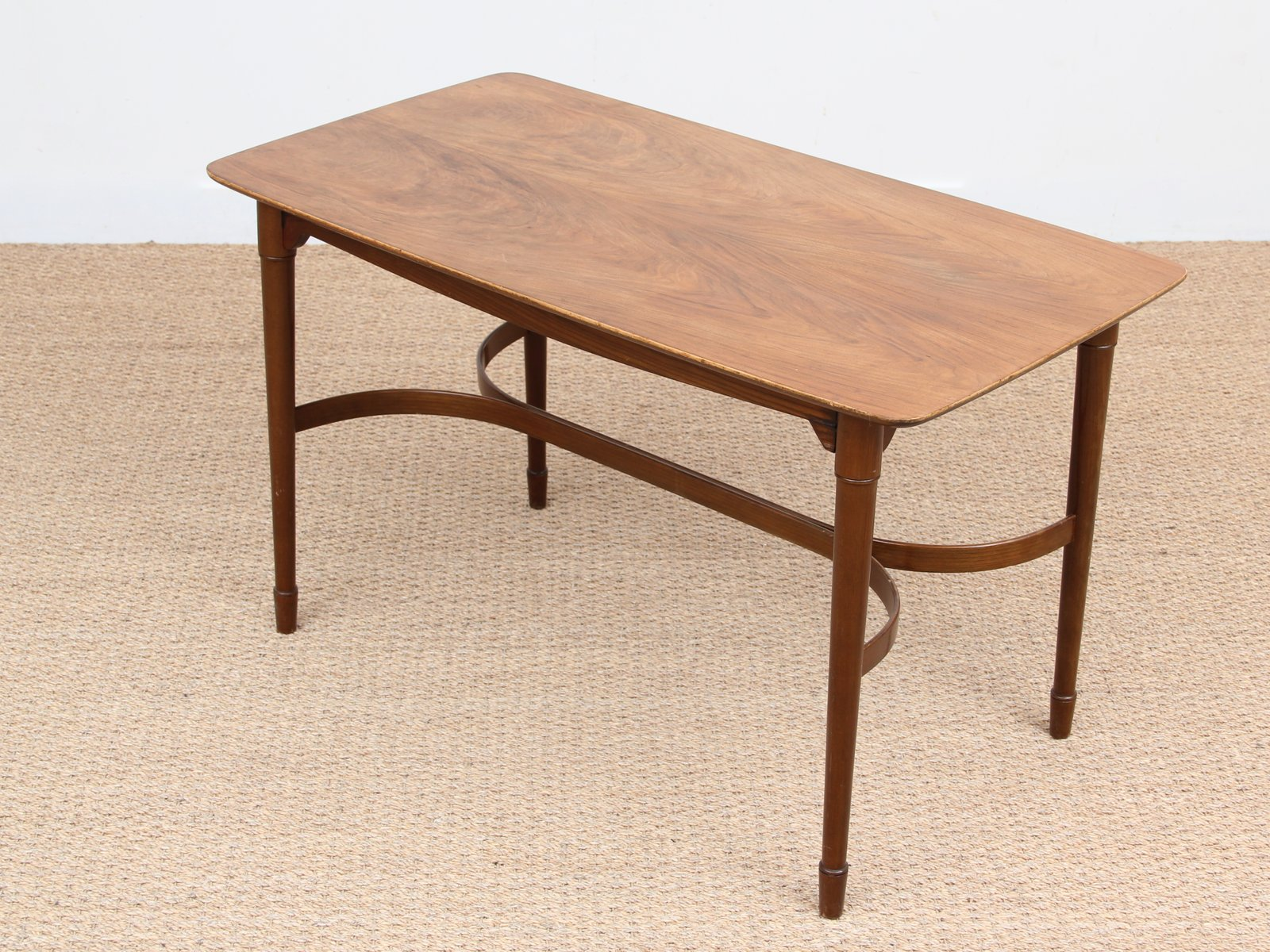 Walnut mahogany coffee table 1950s for sale at pamono for Walnut coffee table