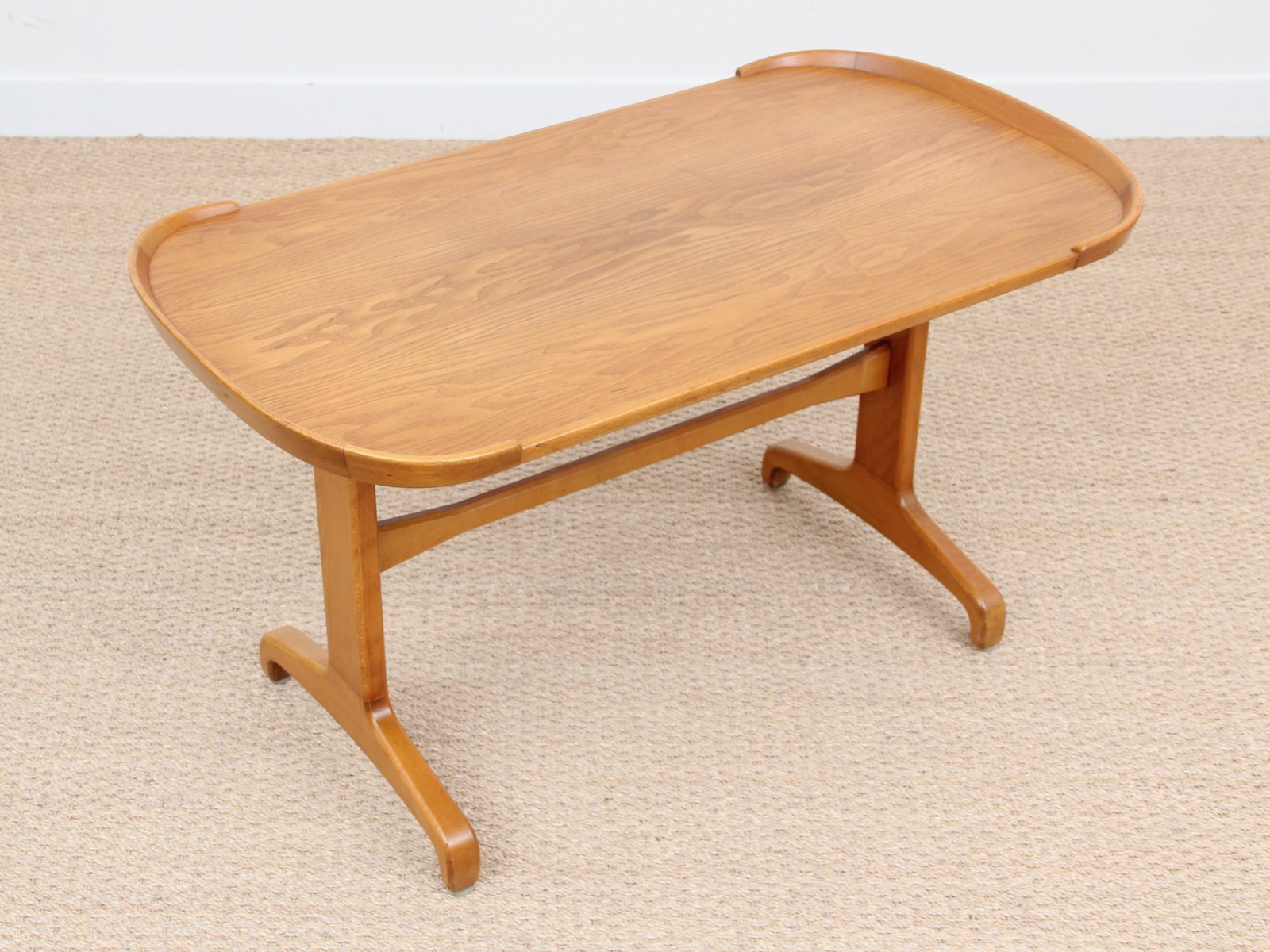 Beech Elm Coffee Table 1960s For Sale At Pamono