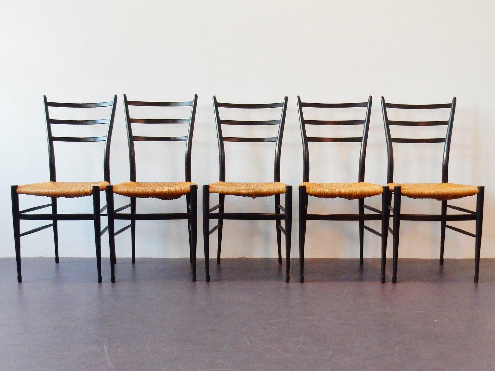 Chaises de salle manger spinetto chiavari italie 1950s for Salle a manger 1950