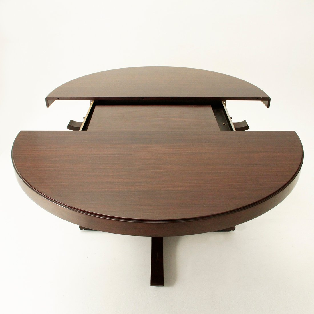 Extensible dining table by giovanni ausenda for stilwood for Table extensible keneah