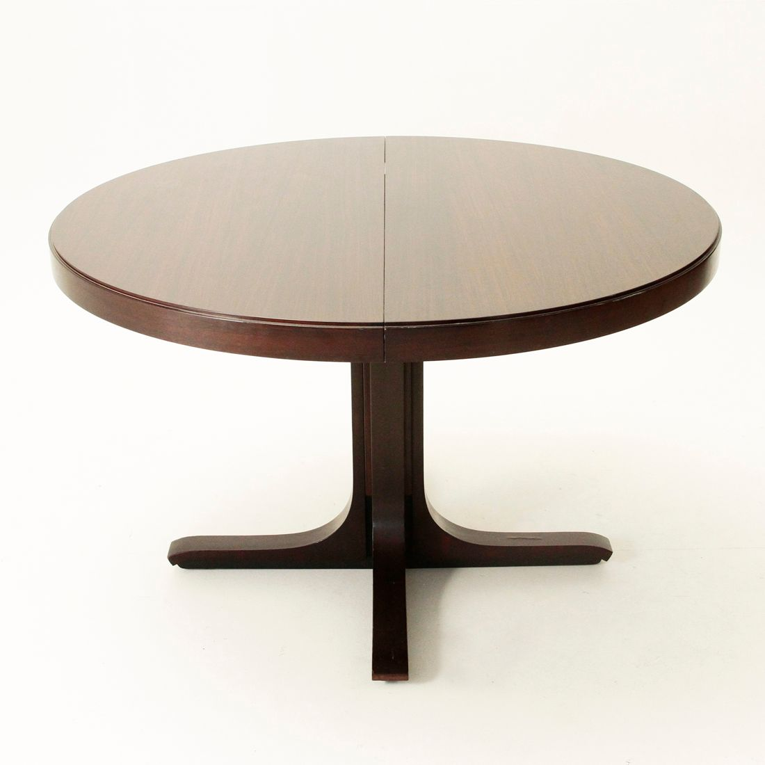 Extensible dining table by giovanni ausenda for stilwood for Table extensible tournante