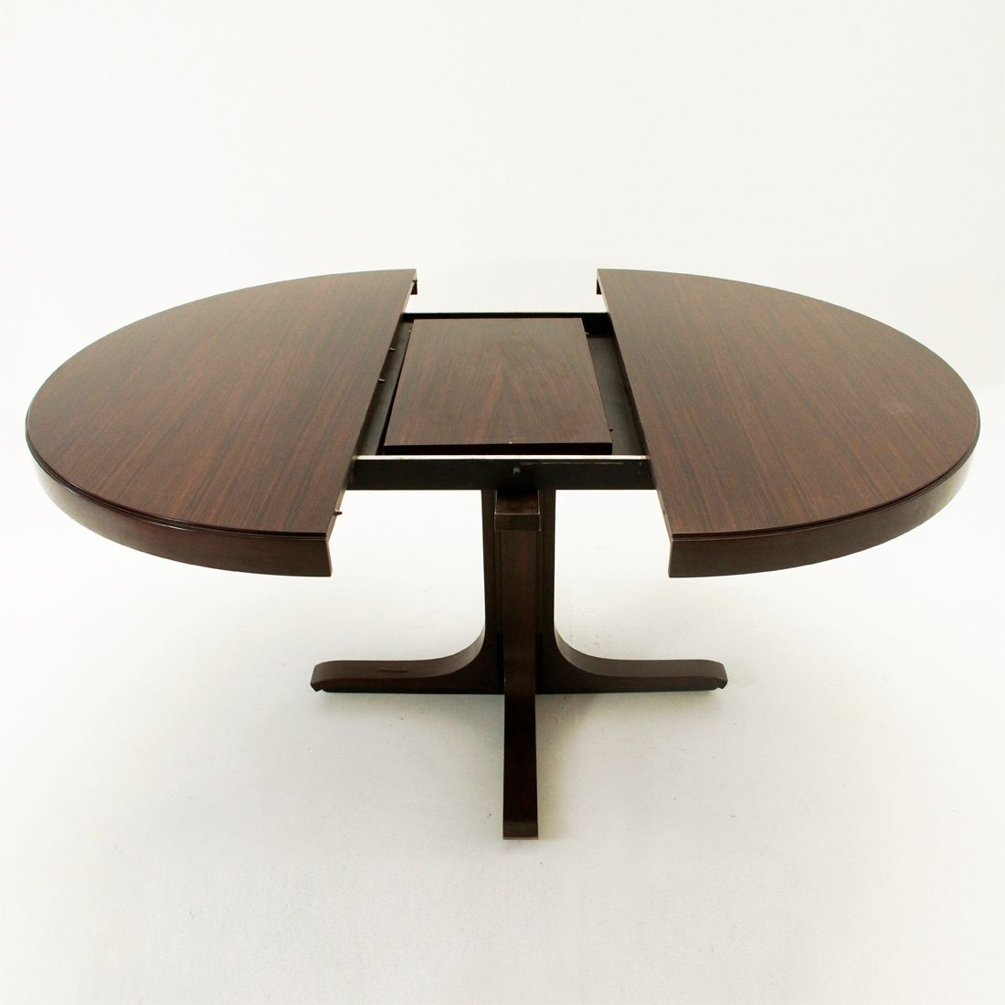 Extensible dining table by giovanni ausenda for stilwood 1963 for sale at pa - Table noire extensible ...