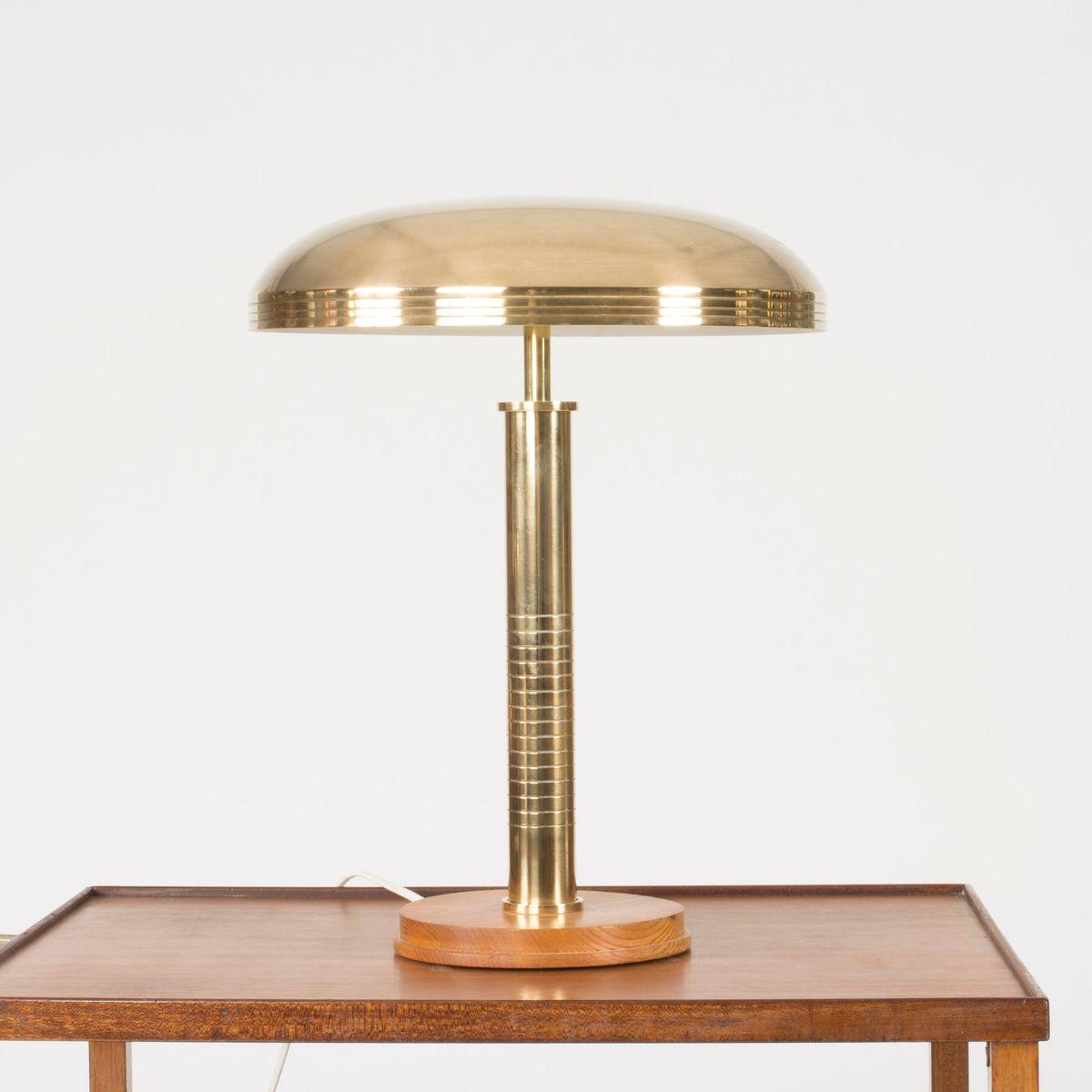 lampe de bureau en laiton de b hlmarks 1940s en vente sur pamono. Black Bedroom Furniture Sets. Home Design Ideas