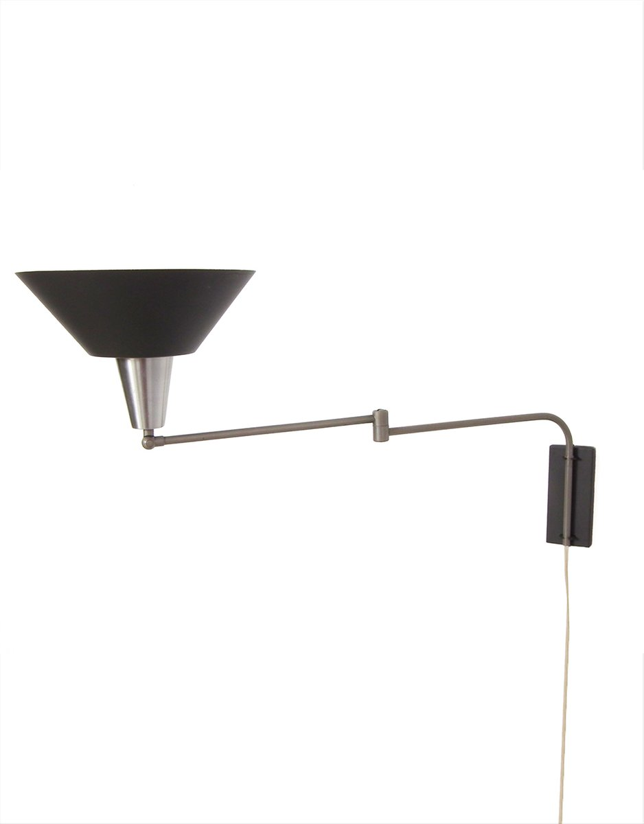 Wall Light with Swing Arm, 1960s for sale at Pamono