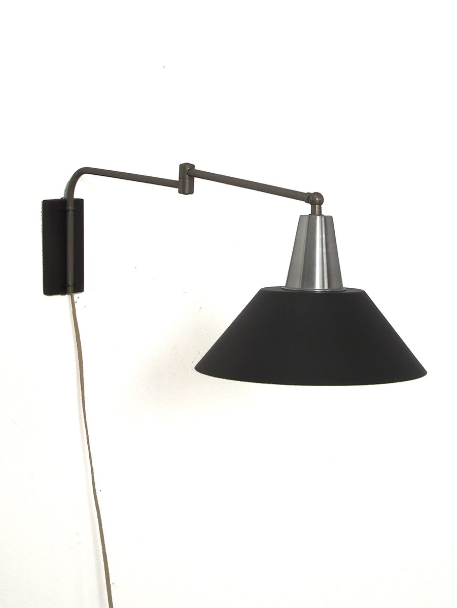 Wall Lights Scandinavian : Wall Light with Swing Arm, 1960s for sale at Pamono