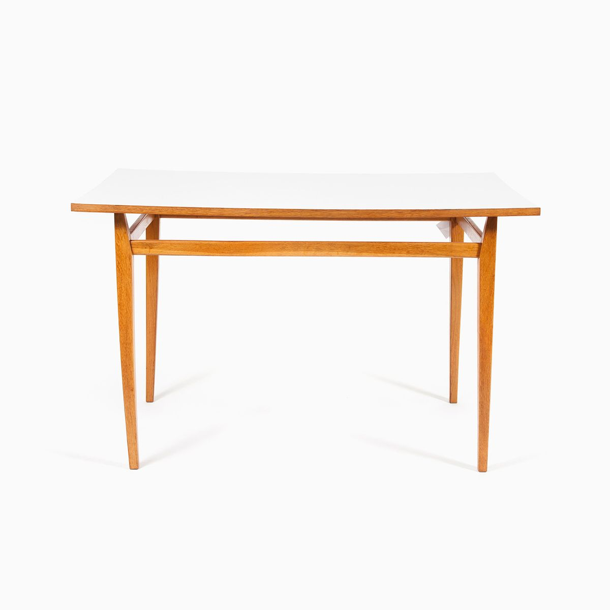 vintage minimalist wooden table for sale at pamono. Black Bedroom Furniture Sets. Home Design Ideas
