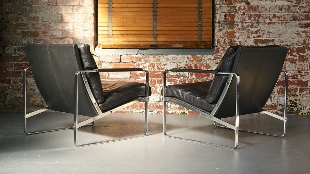 Mid Century Modern Living Room Set By Preben Fabricius For Walter Knoll 1970