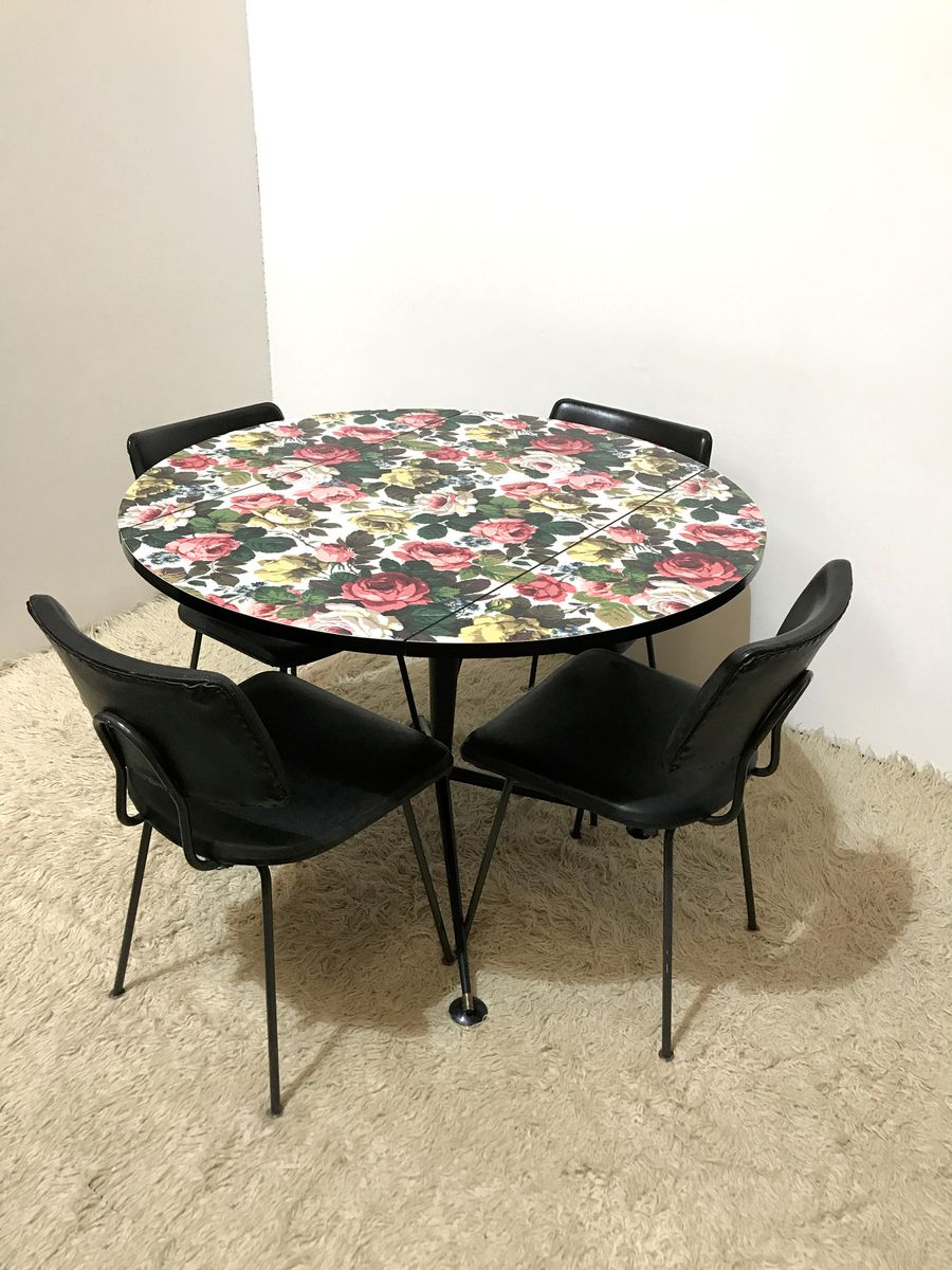 Mid century formica kitchen table 1950s for sale at pamono - Table cuisine formica annee 50 ...