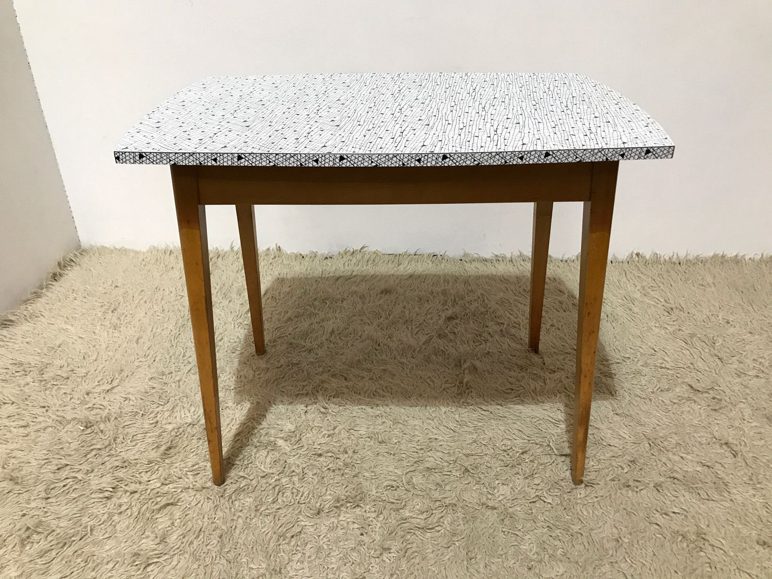 Mid century modernist formica atomic kitchen table from guilform 1960s for sale at pamono - Formica top kitchen table ...