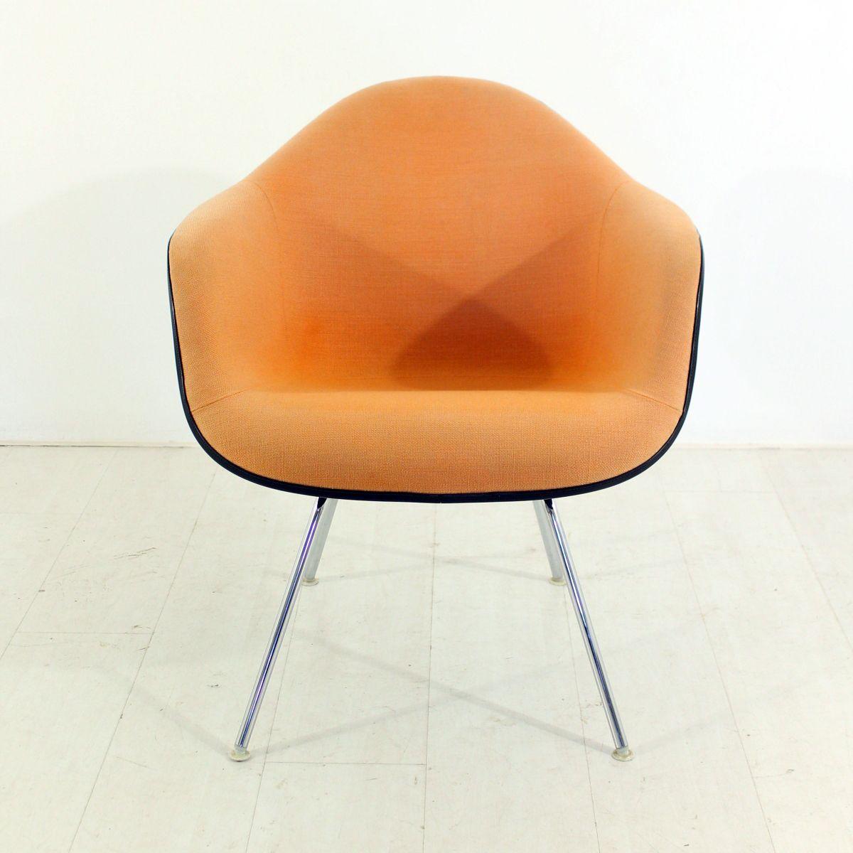 vintage sessel in terracotta von charles ray eames for. Black Bedroom Furniture Sets. Home Design Ideas