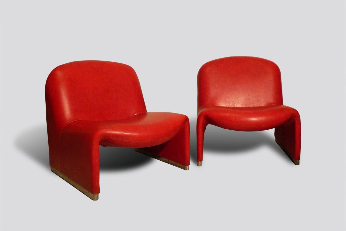 italienische mid century alki sessel von giancarlo piretti for castelli 1960er bei pamono kaufen. Black Bedroom Furniture Sets. Home Design Ideas