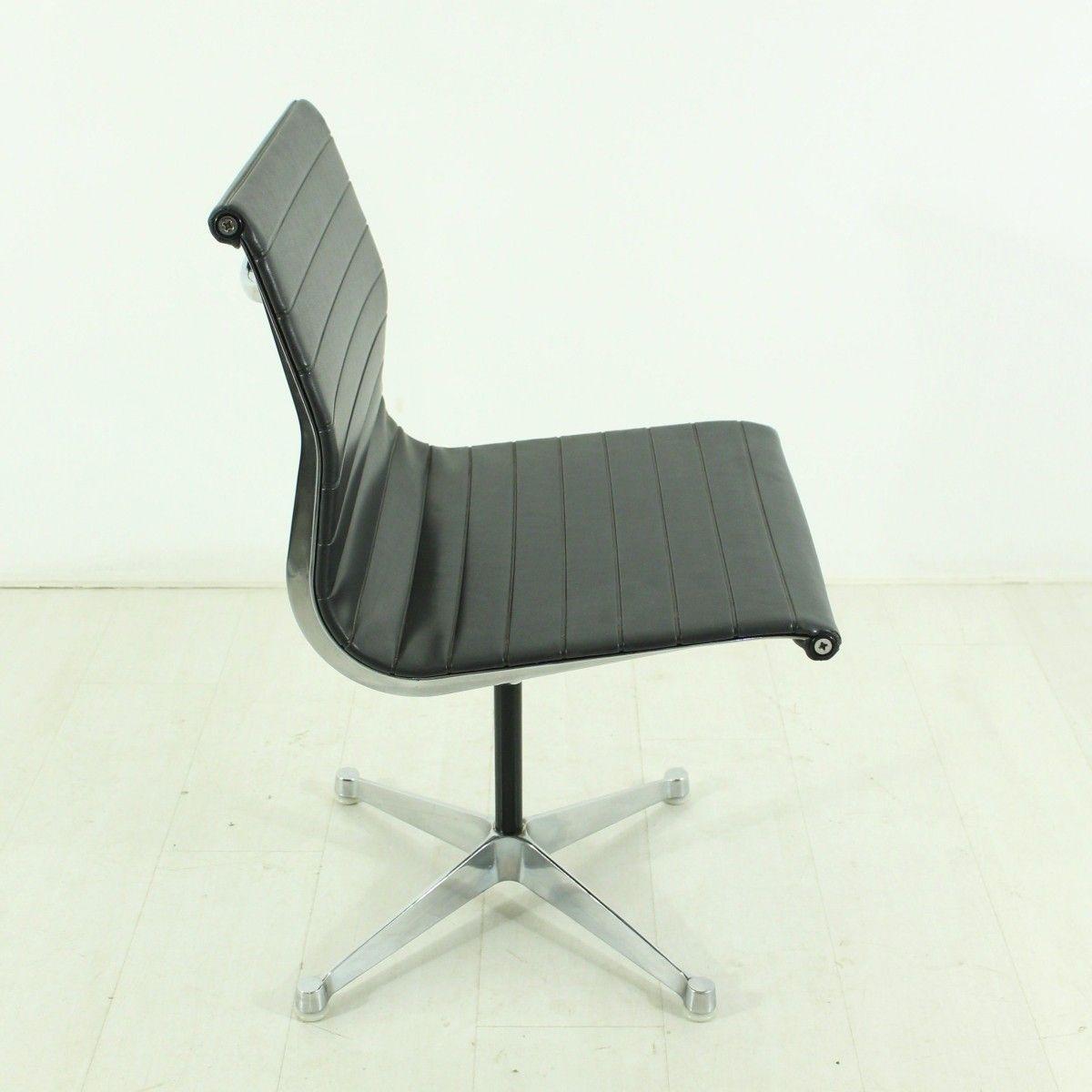 vintage ea101 stuhl von charles ray eames f r herman. Black Bedroom Furniture Sets. Home Design Ideas
