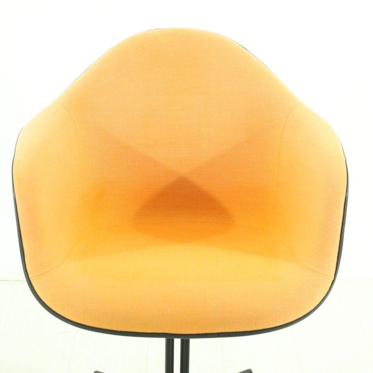 Chaise terracotta la fonda vintage par charles ray eames for Chaise eames vitra soldes