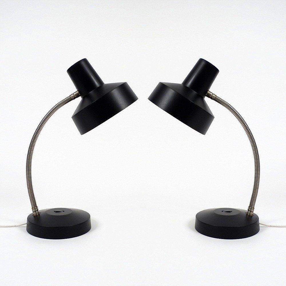 vintage schreibtischlampen 2er set bei pamono kaufen. Black Bedroom Furniture Sets. Home Design Ideas