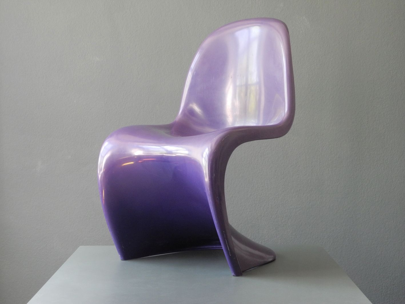 purple panton chair by verner panton for herman miller fehlbaum 1976 bei pamono kaufen. Black Bedroom Furniture Sets. Home Design Ideas