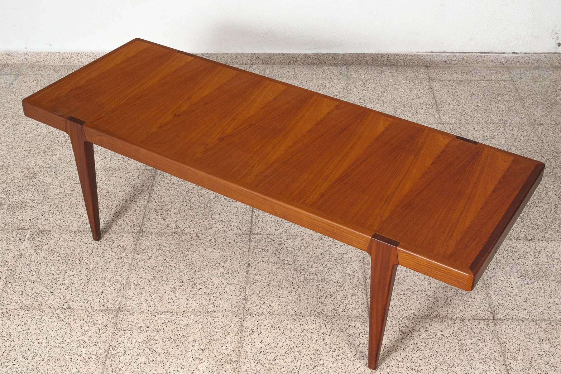 Swedish Coffee Table in Teak 1960s for sale at Pamono