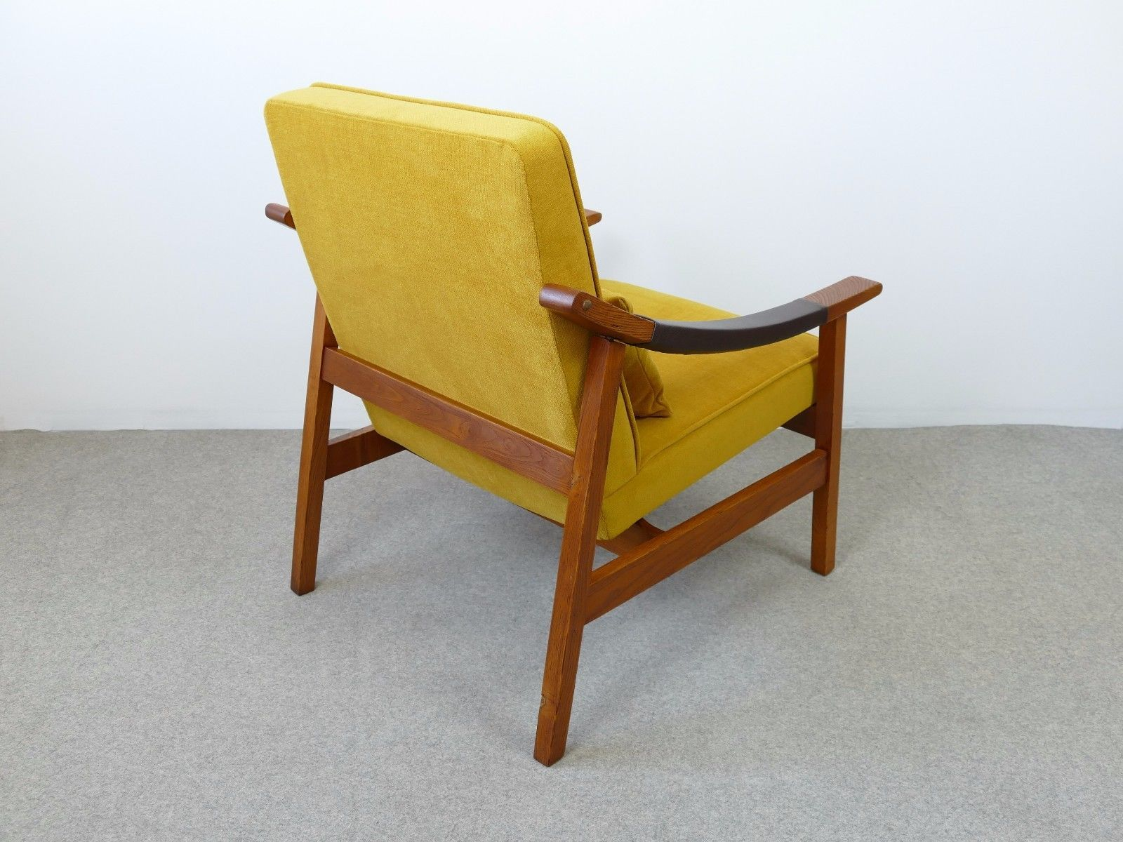 midcentury yellow armchair s for sale at pamono - price per piece