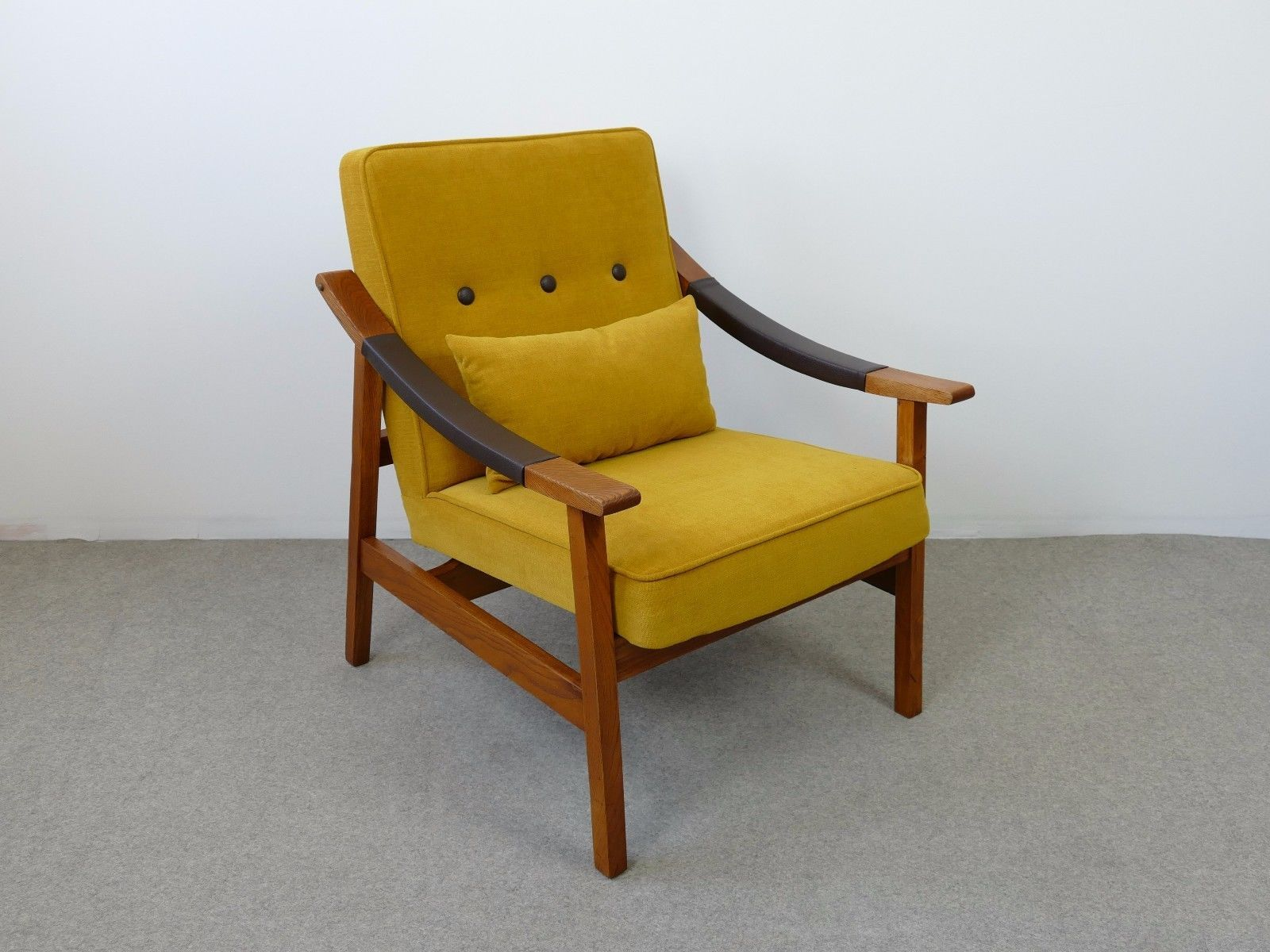 midcentury yellow armchair s for sale at pamono - midcentury yellow armchair s