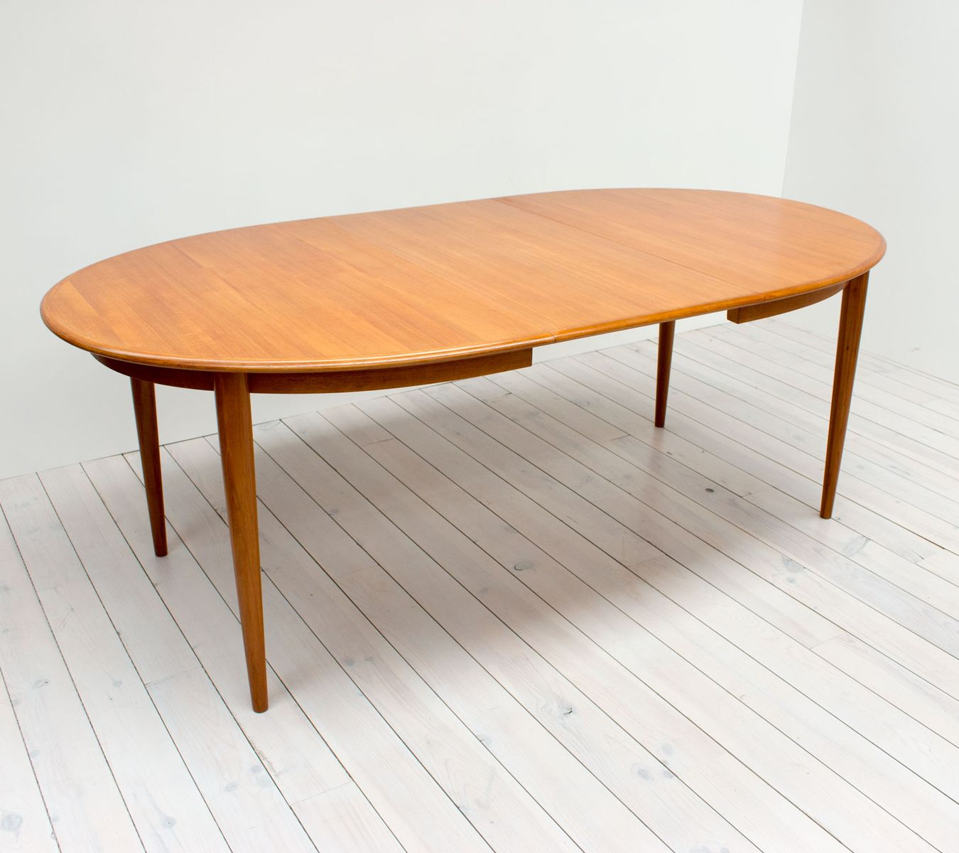Model 4 Oval Teak Extending Dining Table by Hans Skovmand  : model 4 oval teak extending dining table by hans skovmand for skovmand andersen 1963 2 from www.pamono.com.au size 1350 x 1200 jpeg 101kB