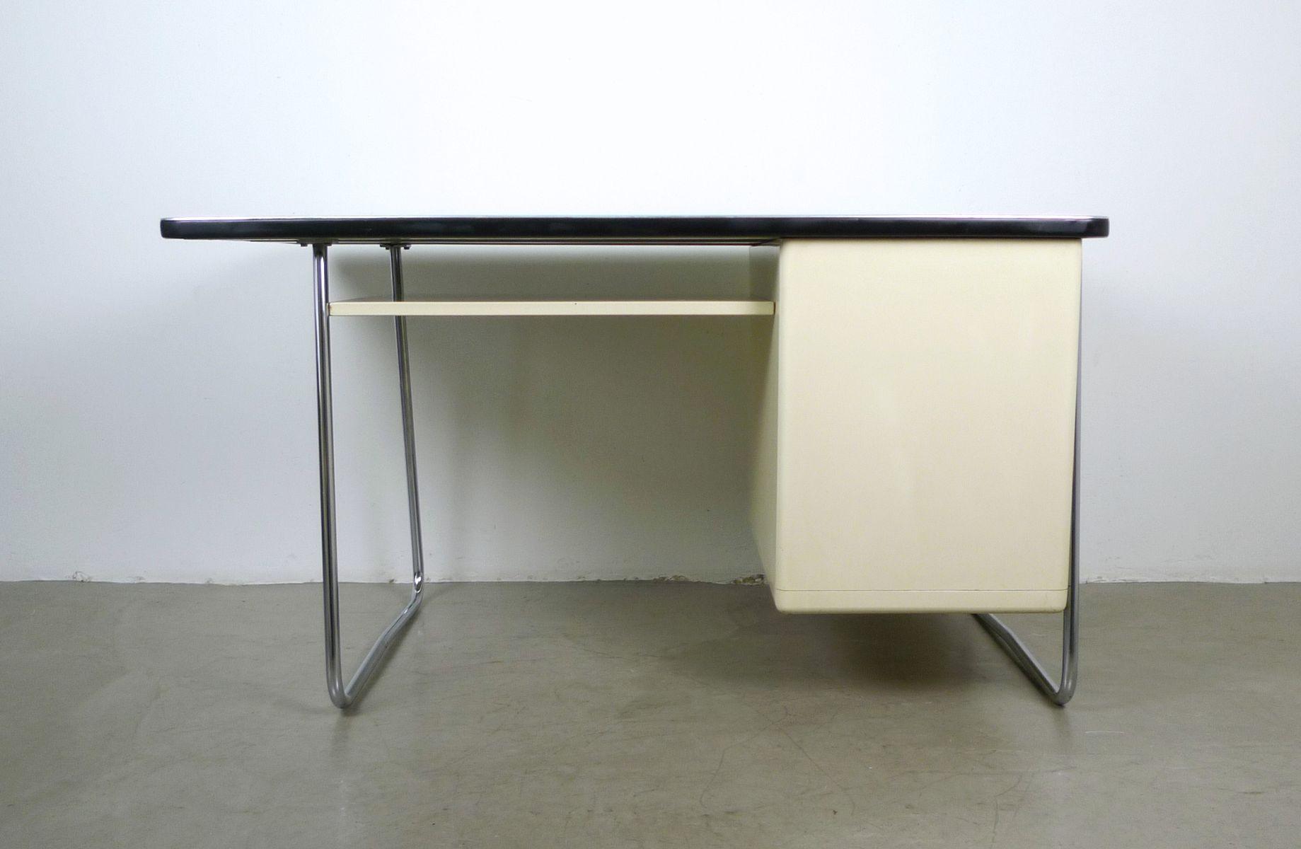 bureau en m tal de mauser werke 1950s en vente sur pamono. Black Bedroom Furniture Sets. Home Design Ideas
