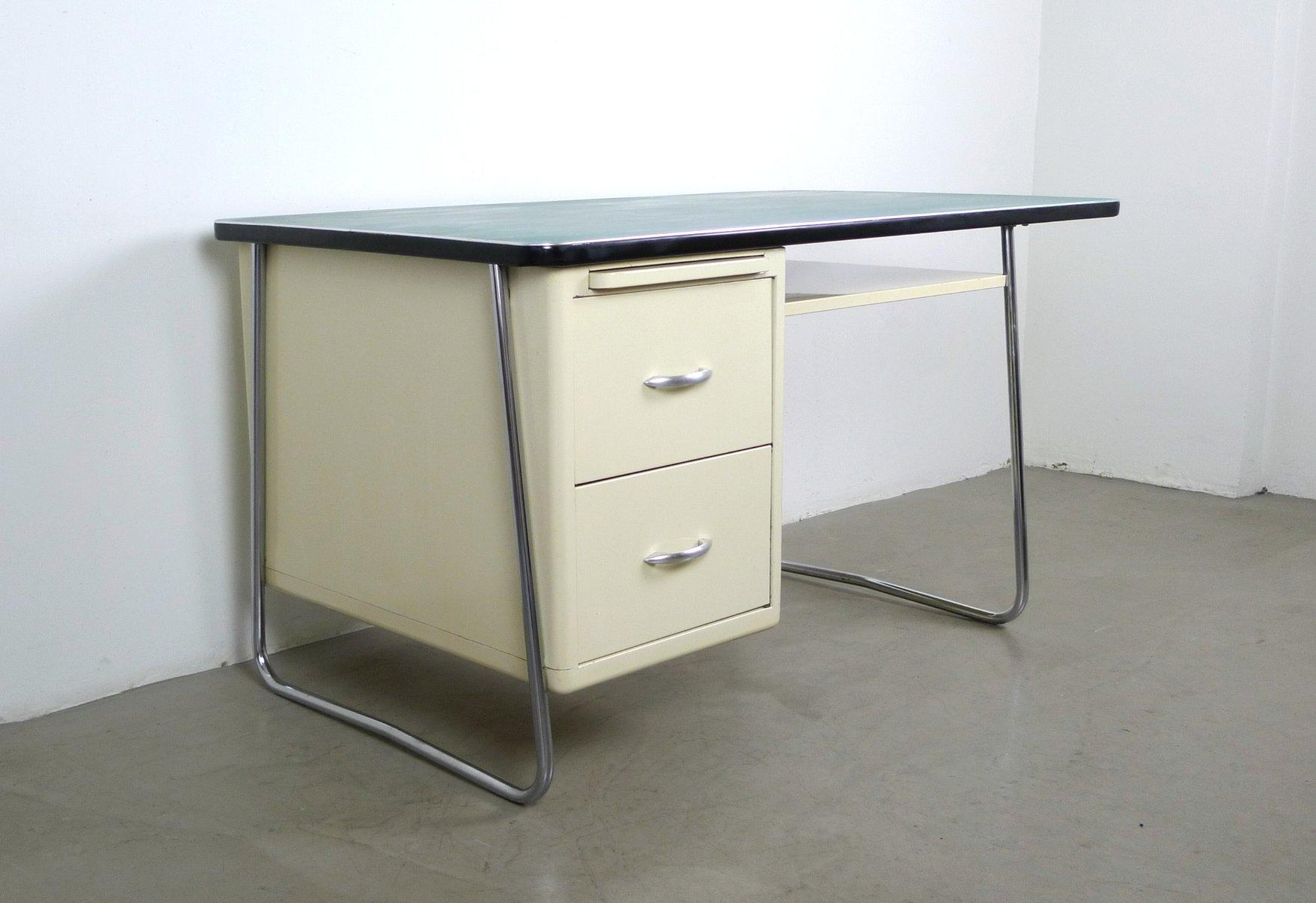 Metall schreibtisch von mauser werke 1950er bei pamono kaufen for Schreibtisch metall