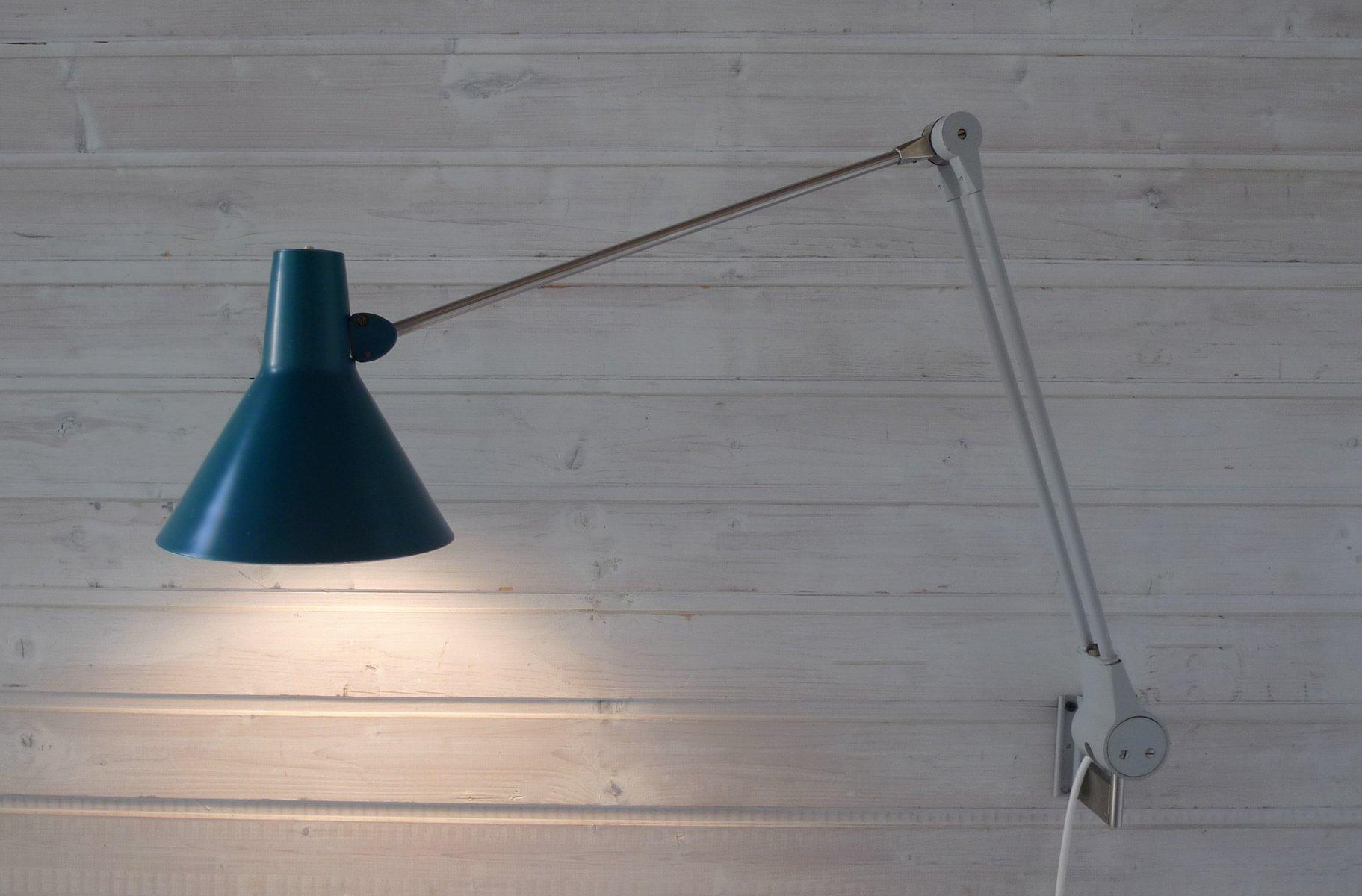 verstellbare arbeitsleuchte von kaiser leuchten 1950er. Black Bedroom Furniture Sets. Home Design Ideas