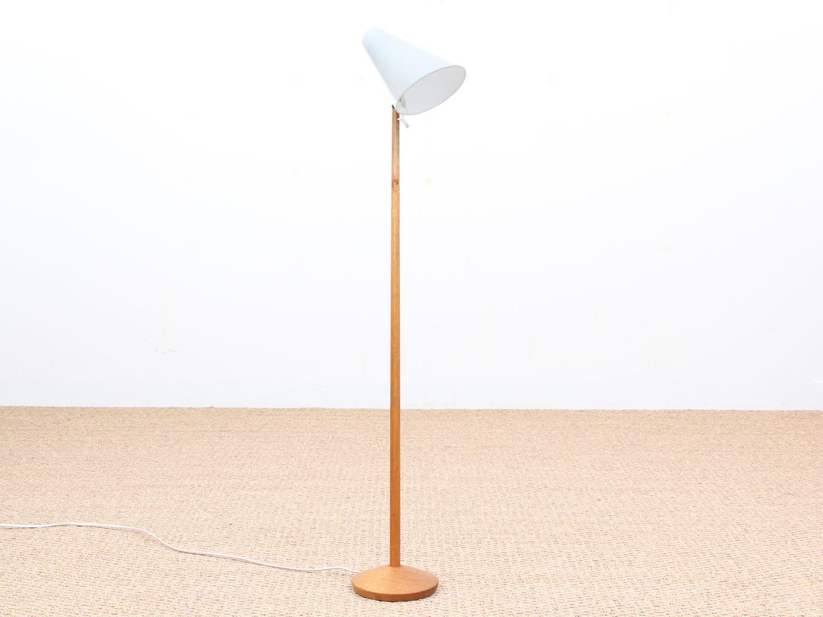 mid-century small floor lamp by uno & osten kristiansson for luxus ... - Luxus Raumausstattung Shop