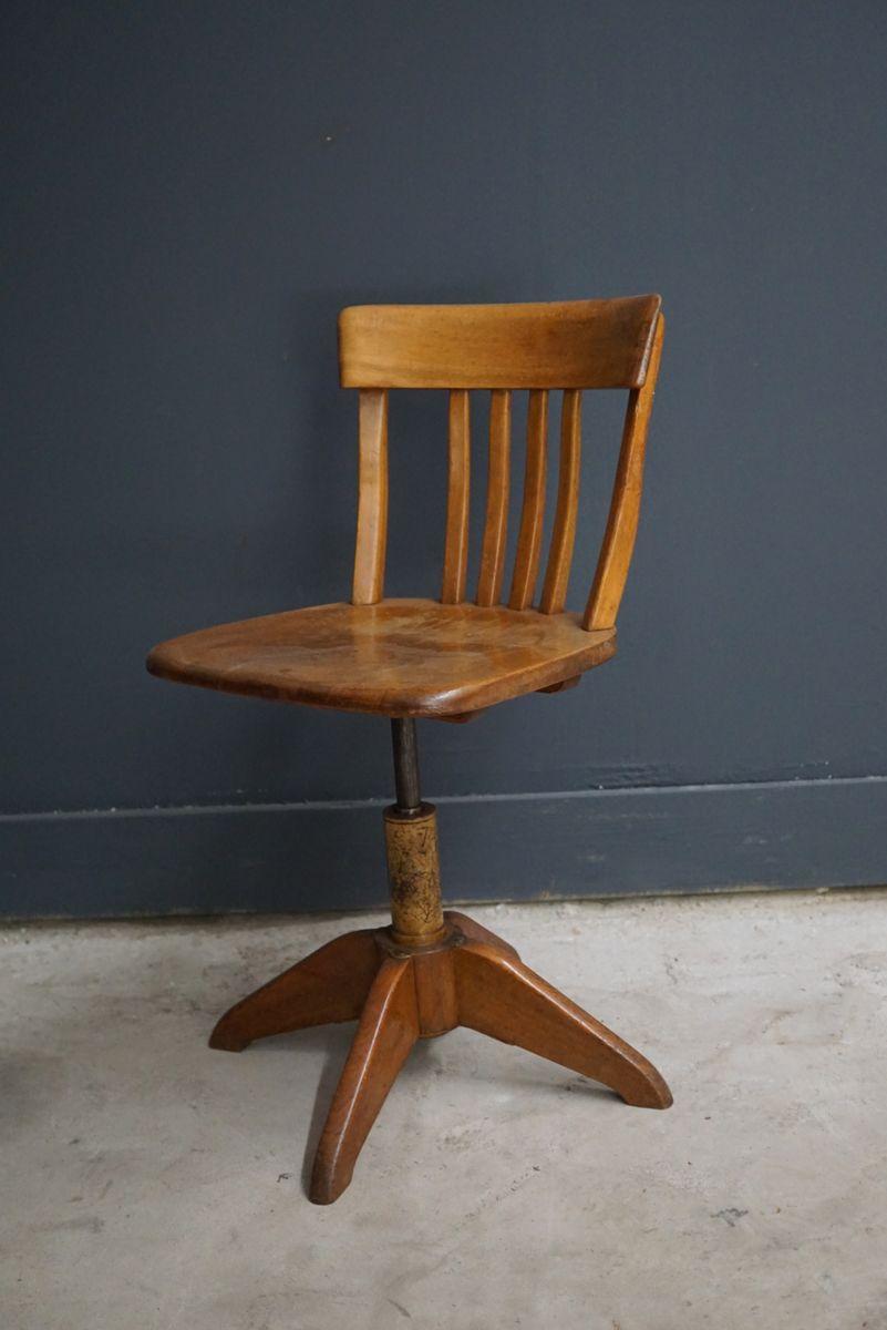 mid century office chair. midcentury german federdreh office chair by albert stoll mid century