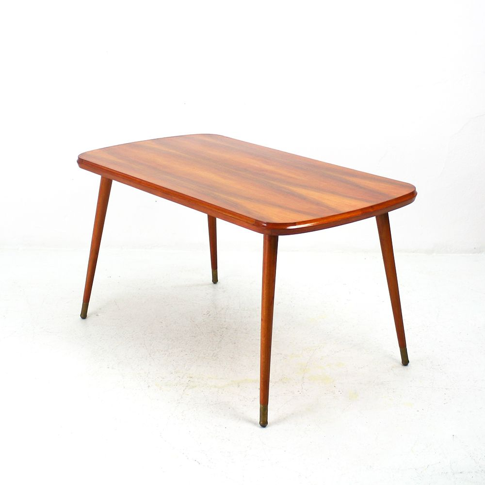 Vintage Walnut Coffee Table 1950s For Sale At Pamono