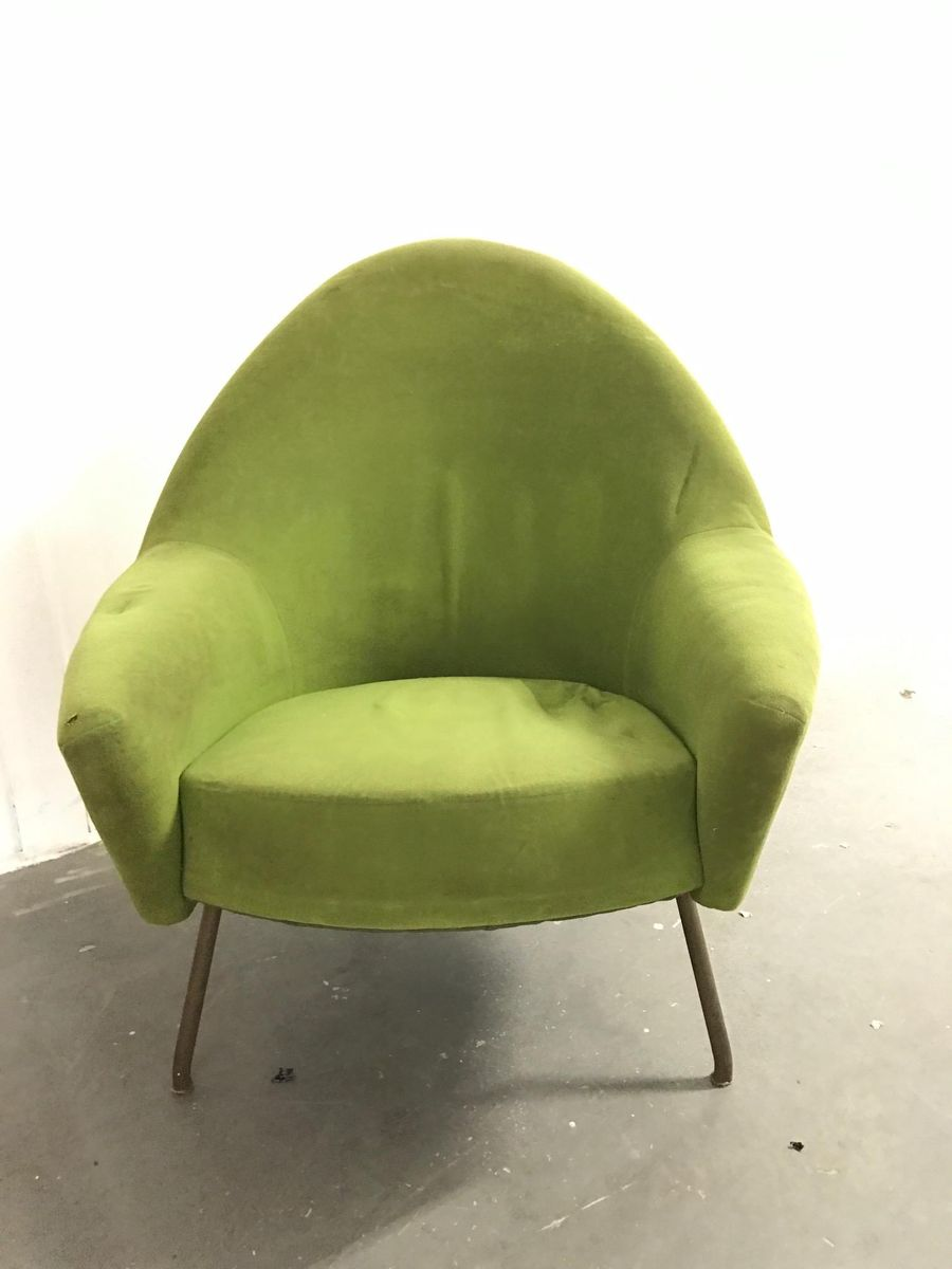 fauteuil vintage model 770 par joseph andr motte pour steiner en vente sur pamono. Black Bedroom Furniture Sets. Home Design Ideas