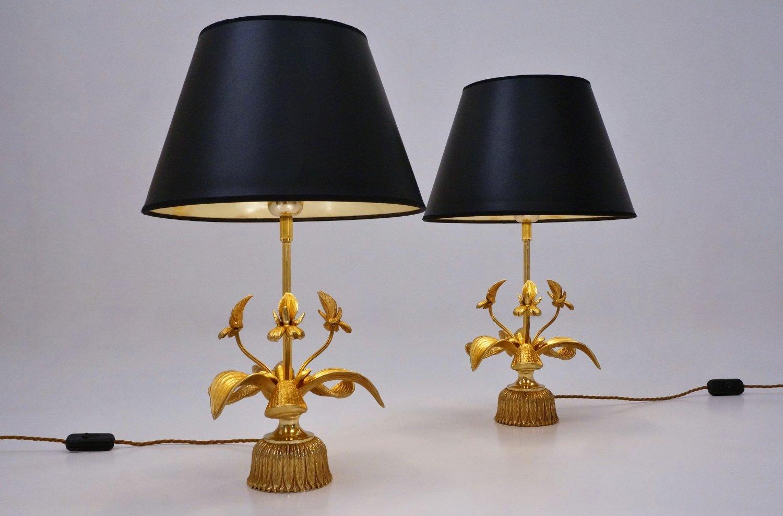 Lampes de bureau orchid en laiton de massive lighting - Lampe de bureau massive ...