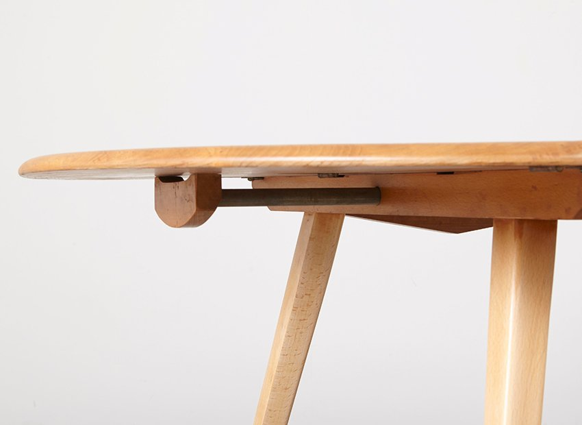 Mid Century Drop leaf Dining Table By Luigi Ercolani For Ercol 1960s Sale At Pamono