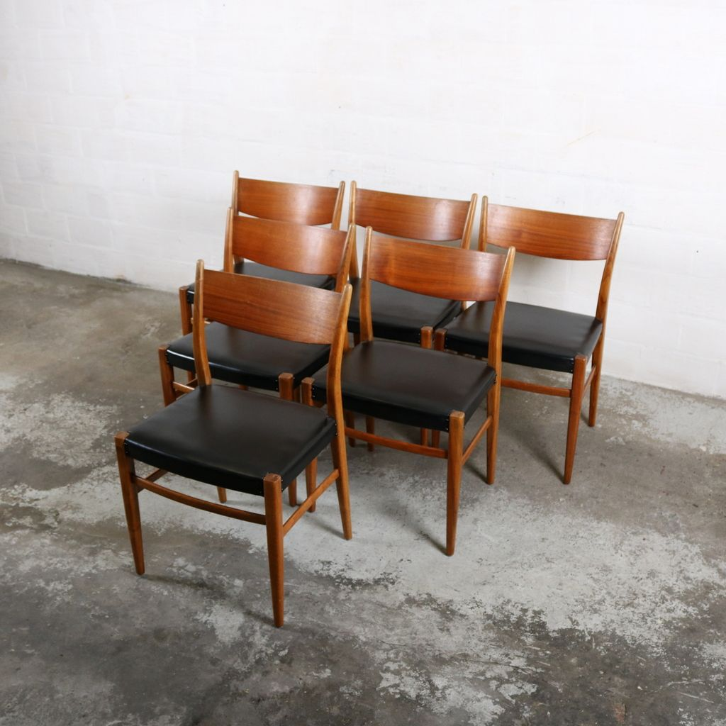 midcentury dutch dining chairs from pastoe s set of  for  - midcentury dutch dining chairs from pastoe s set of