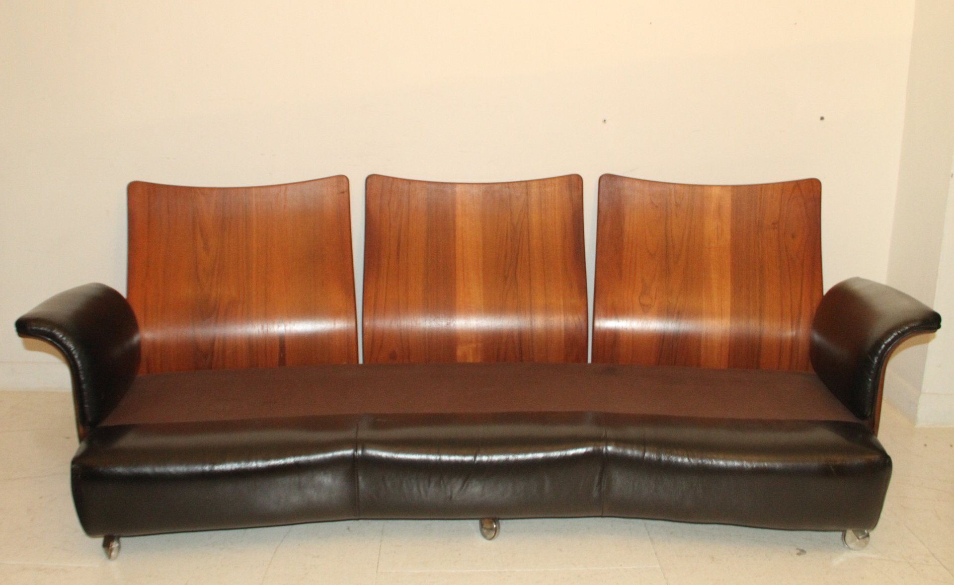 sofa aus palisander leder von g plan 1970er bei pamono kaufen. Black Bedroom Furniture Sets. Home Design Ideas