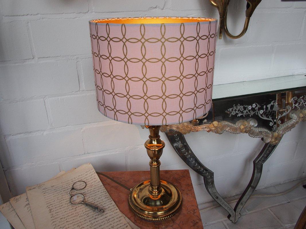 Vintage Golden Pineapple Table Lamp