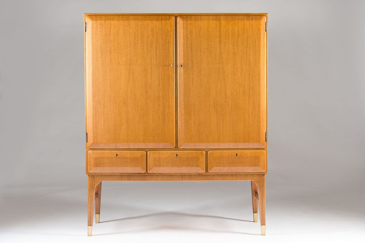Swedish Mid Century Cabinet By Bertil Fridhagen For