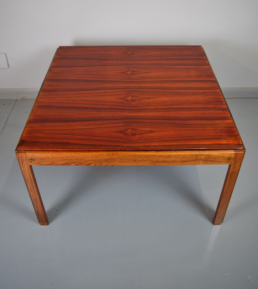 Danish Rosewood Coffee Table By Illum Wikkelso For Silkeborg 1960s For Sale At Pamono
